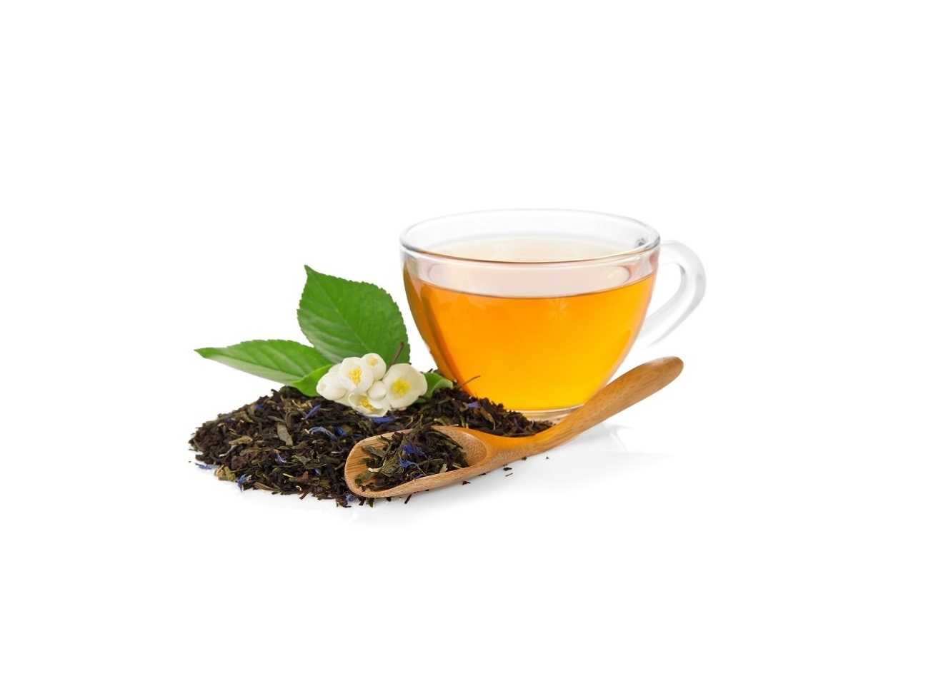 пурпурный чай синий горошек