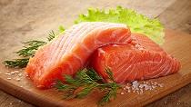 Свежемороженая рыба семга